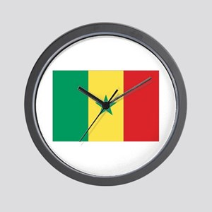 Flag of Senegal Wall Clock
