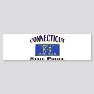 Connecticut State Police Sticker (Bumper)