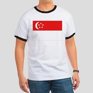 Singapore Flag Ringer T