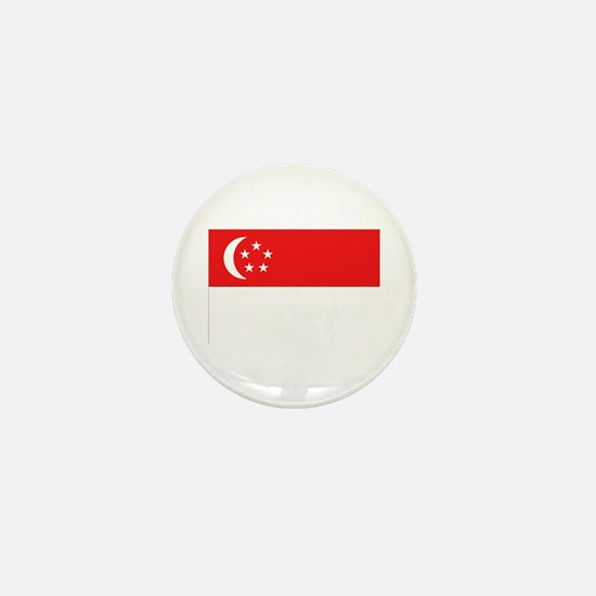 Singapore Flag Mini Button