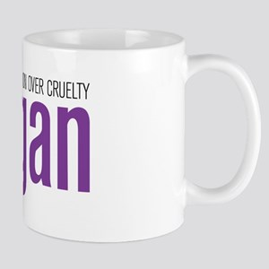 Vegan Compassion Over Cruelty Mug