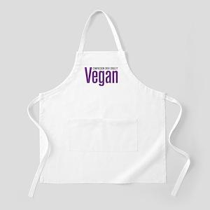 Vegan Compassion Over Cruelty Apron
