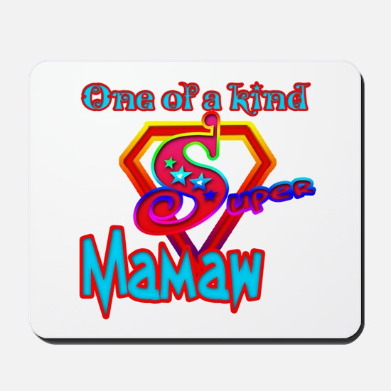 SUPER MAMAW Mousepad