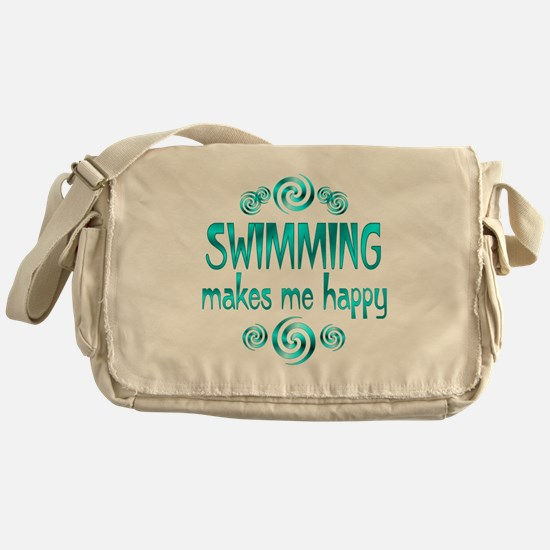 Swimming Messenger Bag