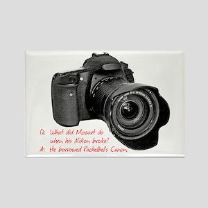 Pachelbel's Canon Rectangle Magnet