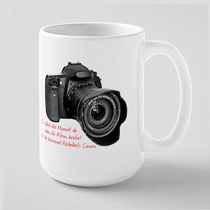 Pachelbel's Canon Large Mug
