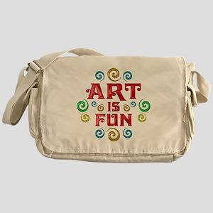 Art is Fun Messenger Bag