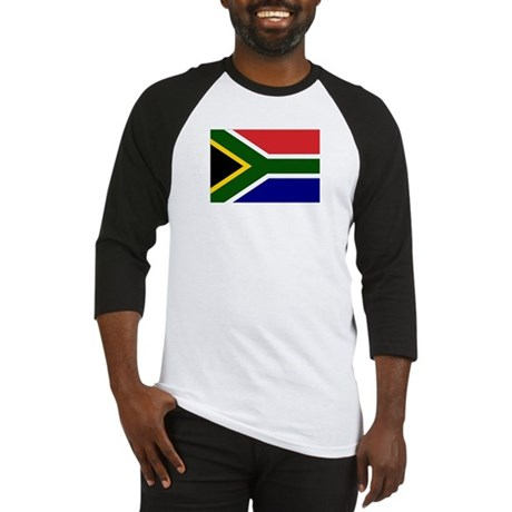 South African Flag Baseball Jersey