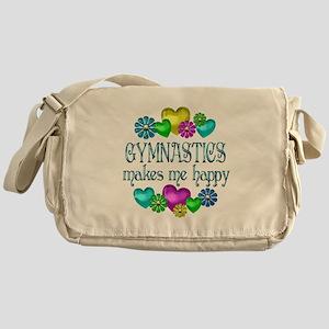 Gymnastics Happiness Messenger Bag
