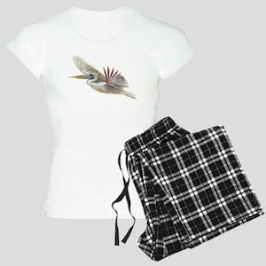 pelican in flight Women's Light Pajamas