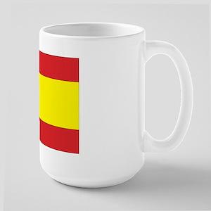 Spanish Flag Large Mug