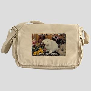 Valuable Pet Lesson #8 Messenger Bag