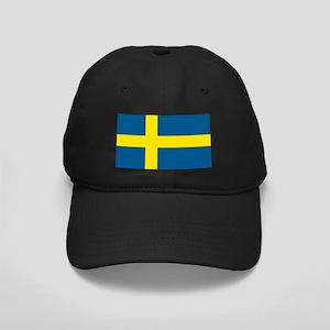 Swedish Flag Black Cap