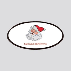 Greek Santa Patches
