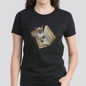 Kitten Book Women's Dark T-Shirt