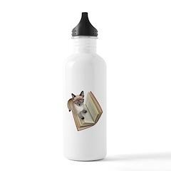 Kitten Book Stainless Water Bottle 1.0L