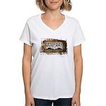 Save A Fox Foundation Women's V-Neck T-Shirt