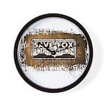 Save A Fox Foundation Wall Clock