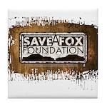 Save A Fox Foundation Tile Coaster