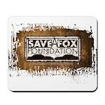 Save A Fox Foundation Mousepad