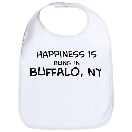 Happiness is Buffalo Bib