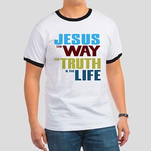 Jesus Way Truth Life Ringer T