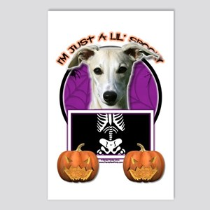 Just a Lil Spooky Whippet Postcards (Package of 8)