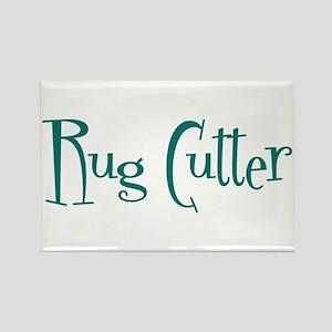 Rug Cutter Rectangle Magnet