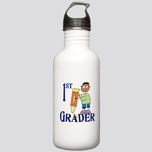 1st Grade Boy Stainless Water Bottle 1.0L