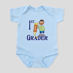 1st Grade Boy Infant Bodysuit