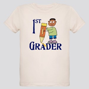 1st Grade Boy Organic Kids T-Shirt