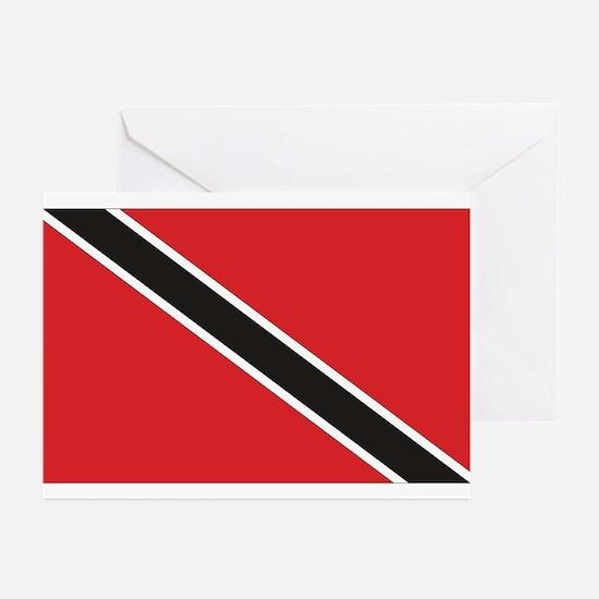 Trinidad & Tobago Flag Greeting Cards (Package of