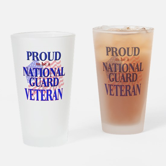 National Guard - Veteran Drinking Glass