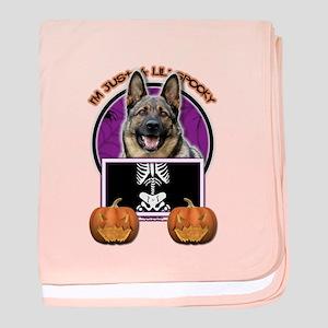 Just a Lil Spooky Shepherd baby blanket