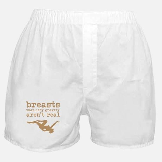 Fake Breasts Boxer Shorts