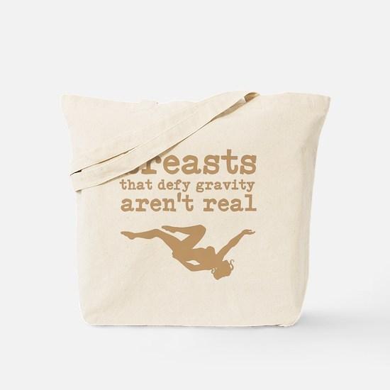 Fake Breasts Tote Bag