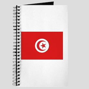 Tunisia Flag Journal