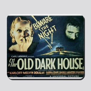 The Old Dark House Mousepad