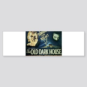 The Old Dark House Sticker (Bumper)