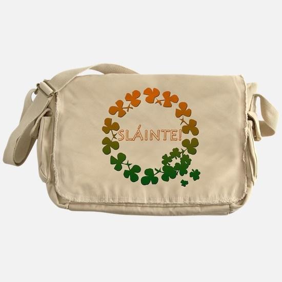 Slainte Irish Toast Messenger Bag