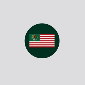 Mexican American Flag Mini Button