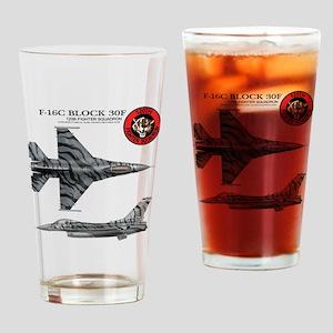 F-16 Drinking Glass