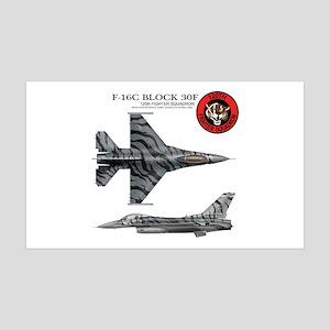 F-16 38.5 x 24.5 Wall Peel