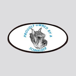 Proudly Owned Schnauzer Patches