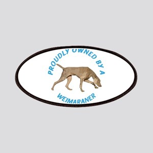 Proudly Owned Weimaraner Patches