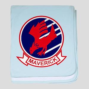 Top Gun baby blanket