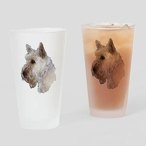 Scottish Terrier (Wheaten) Drinking Glass