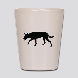 Working Australian Kelpie Shot Glass
