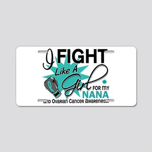 Fight Like a Girl For My Ovarian Cancer Aluminum L
