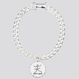 ballet is good! Charm Bracelet, One Charm